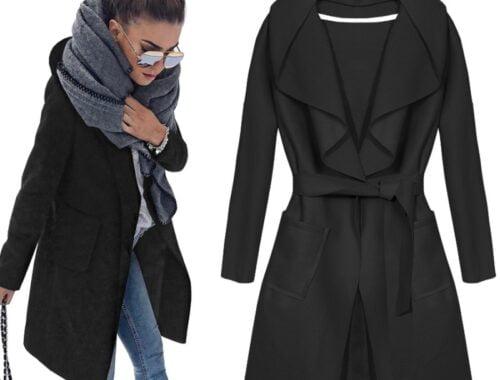 Modny płaszcz na jesień i zimę