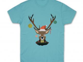 Koszulka z reniferem