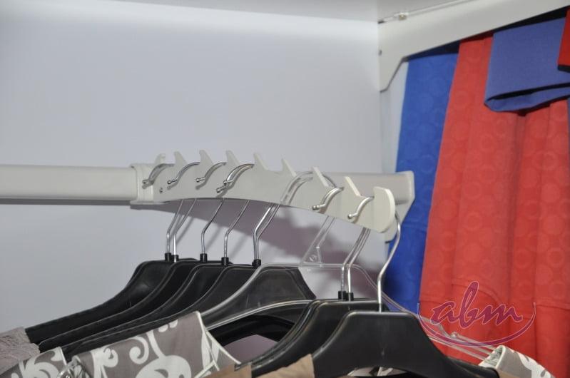 Prezentacja odzieży w sklepie