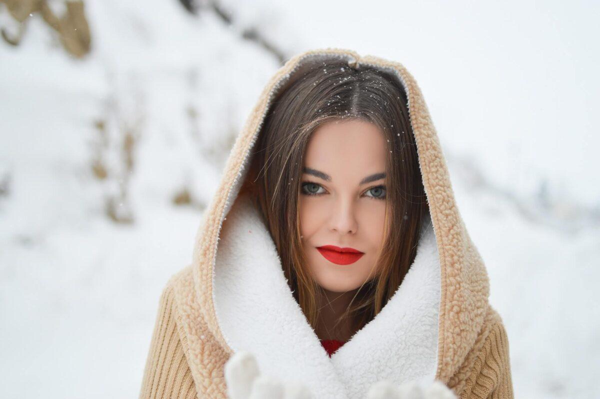 Idealny makijaż na zimę