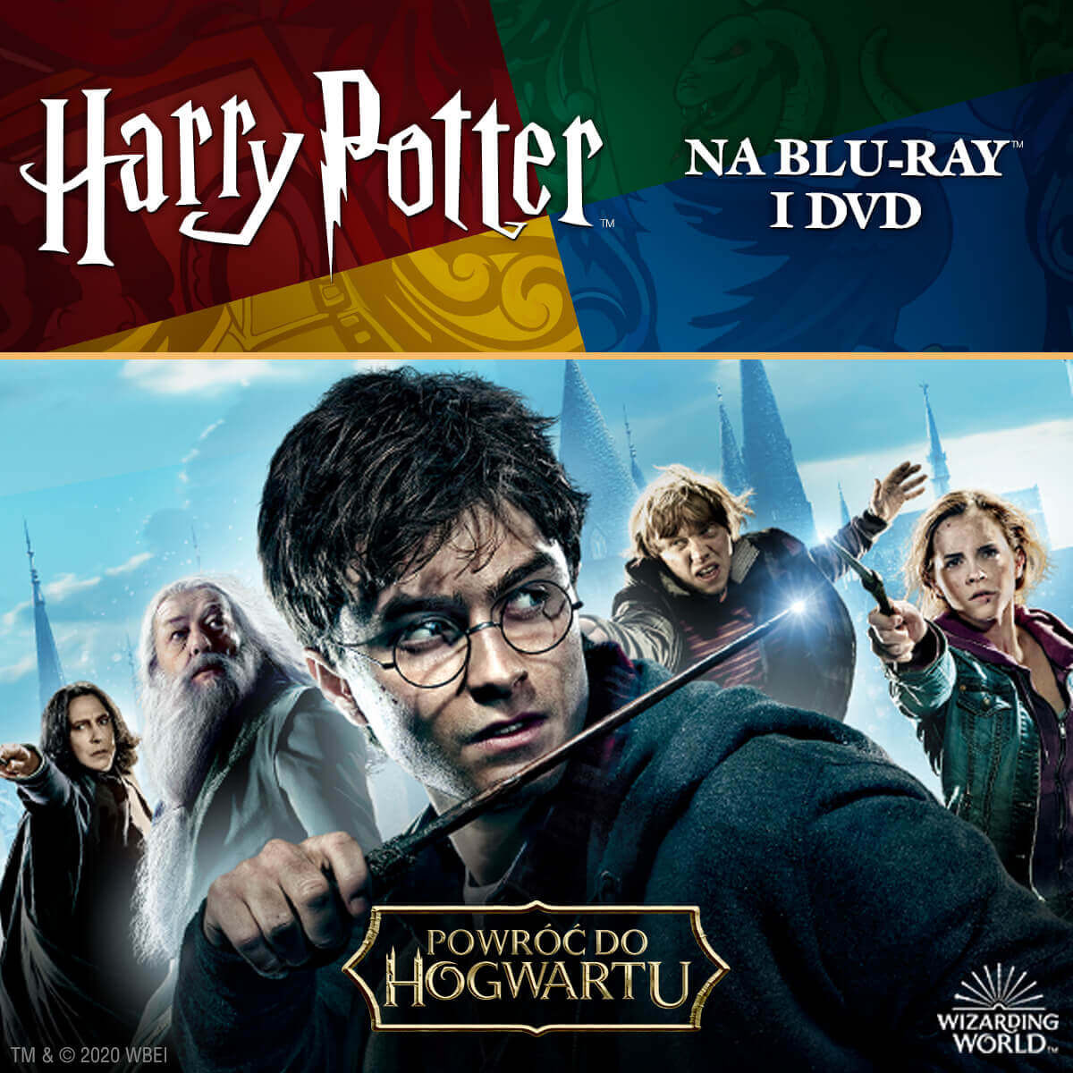 HARRY POTTER Na Blu-ray™ i DVD!