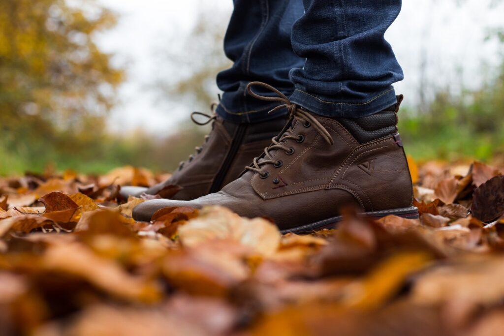 Męskie buty na jesień
