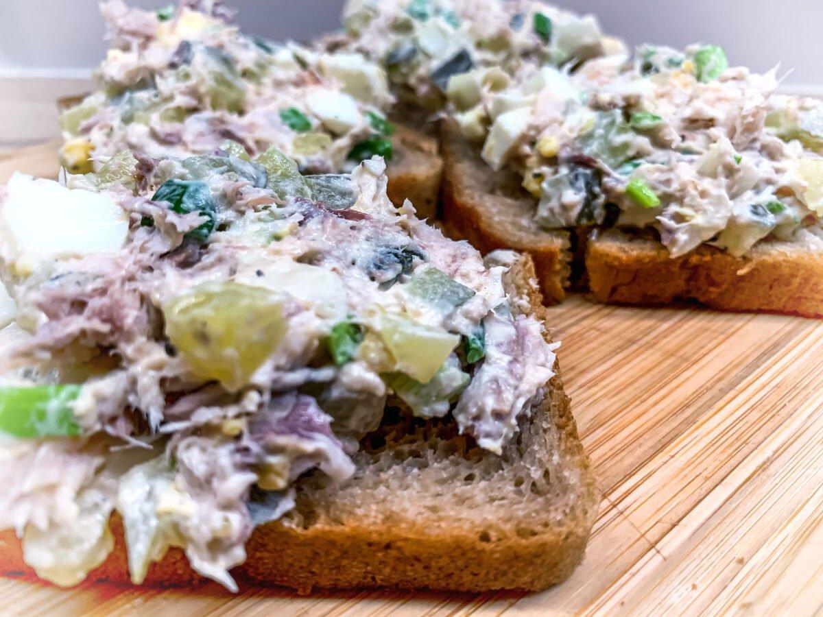 Pasta kanapkowa z wędzonej makreli